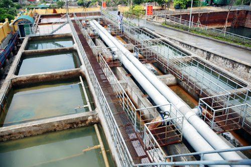 trạm xử lý nước cấp sinh hoạt